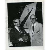 1973 Press Photo David Lewis, Hillsboro charter pilot - ora50337