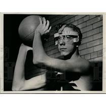 1941 Press Photo Dike Dikeman Southeastern High school basketball - net09323