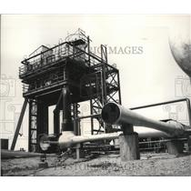 1965 Press Photo Boeing's Rocket Test Stand at Company's Test Site - spa28512