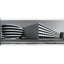 1980 Press Photo Spokane International Airport- parking garage - spa22014