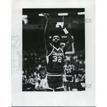 1978 Press Photo Denver basketball player Bob Wilkerson in action - net14568