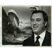 1983 Press Photo Russell Scoville, president of American Skyships Industries