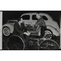 1940 Press Photo Henry and Edsel Ford - spa06796