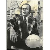 1977 Press Photo Karl Thomas Balloonist - spa25436