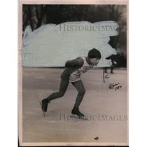 1921 Press Photo Skater Raymond Murray at a Chicago Public Schools meet