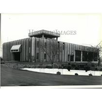 1979 Press Photo Spokane Airports Crash-Fire-Rescue Station - spa21968