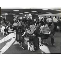 1976 Press Photo Spokane International Airport Terminal - spa28226