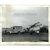 1941 Press Photo A patient who has been flown from the inland to Wyndham