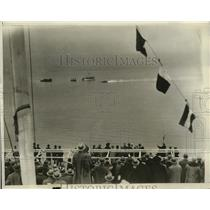 1929 Press Photo Jake Dunnell wins the Albany-NY Outboard Motor Boat Race
