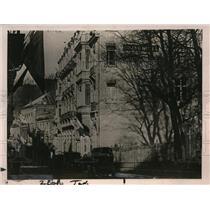 1919 Press Photo International Armistice Commission Headquarters, Spa Belgium