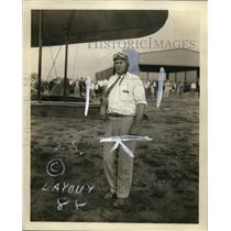 "1927 Press Photo Aviator ""Tex"" Marshall - ney13753"