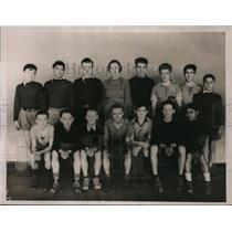 1936 Press Photo Columbia soccer team of Seattke Dick Reynolds, Dean Moore