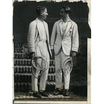1925 Press Photo Jean Borotra of French Davis Cup Team - net18084