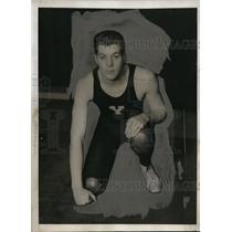 1932 Press Photo Henry Taft Snowden nephew of late president wrestles for Yale