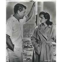 1956 Press Photo Jane Russell Actress Richard Egan - RRR46027