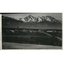 1936 Press Photo Palmer Capital of Government's Farm Colony in Alaska
