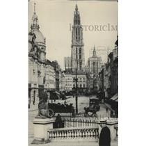 1914 Press Photo Antwerp the temporary capitol of Belgium - spa31692