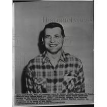 1962 Press Photo Gary Powers American U2 Pilot released from Russian Prison