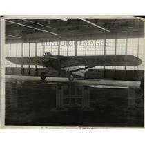 1930 Press Photo Stuison plane refuel non stop flight New Haven to Buenos Aires