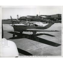 1966 Press Photo Beech Aircraft Model V35TC Plane - ney16974