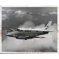 1966 Press Photo Civil Aeronautics Board Beech Aircraft King Air A90 Plane