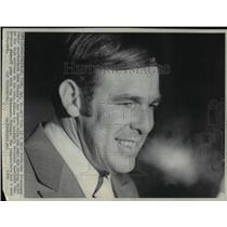 1970 Press Photo San Francisco 49ers' John Brodie arrives in Minneapolis
