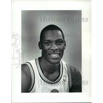 1986 Press Photo Dwayne McClain, Cleveland Cavaliers - cvb64451