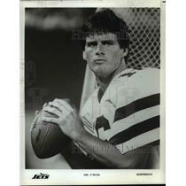Press Photo Ken O'Brien, Quarterback, Jets - cvb69839