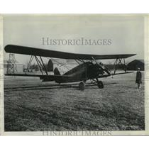 1929 Press Photo Curtiss Tanager which qualified in the Guggenheim Safety Test