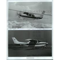 1984 Press Photo The Cessna Centurion 210 aircraft - mja02009