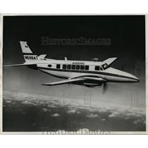 1968 Press Photo Beechcraft 99 miniairliner used by Midstate Air Commuter