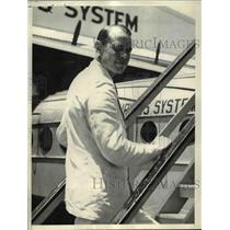 1937 Press Photo Captain Joachim H. Blankenburg, German Pilot - nef03109