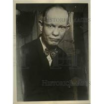 1926 Press Photo Johnny Schiff, Los Angeles Referee, real name is Porter Newman