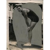 1920 Press Photo Leo Geibel of New York Athletic Club to be US Olympic swimmer