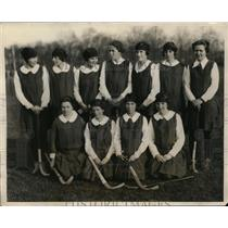 1923 Press Photo Chicago girls field hockey team loses in China - net03343