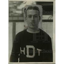 1925 Press Photo Dartmouth hockey team captain John Manser - net04980