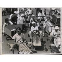 1935 Press Photo 650 entrants in the Soap Box Derby in Philadelphia, PA