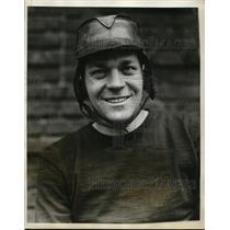 1929 Press Photo Charles Heintz captain of Stevens Tech Institute lacrosse team