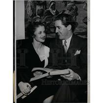 1933 Press Photo Chicago White Sox Billy Sullivan engaged to Louise Barthman
