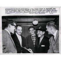 1958 Press Photo New Concordia Seminary baseball coach Marty Marion - net07771