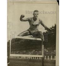 1916 Press Photo Stanford University hurdles runner Fred Murray - net08575