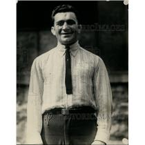1921 Press Photo Boxer Jack Wolf after a training session in a gym - net08678