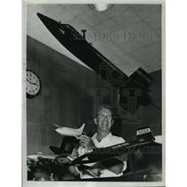 1963 Press Photo X-15 Pilot Joseph A. Walker - mja27974