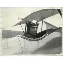 1929 Press Photo Reverend Joseph Rick Completes Aviation Course - ney19383