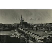 1918 Press Photo Dresden City, Germany - ney21953