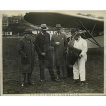 1929 Press Photo Fairchild Aerial Survey Plane at Van Cortlandt Park - ney19665