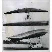 1955 Press Photo British M.L. utility Aircraft Plane - ney22484