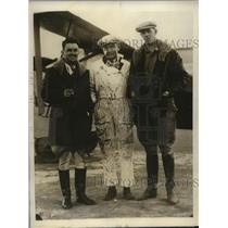 1928 Press Photo Fresno-to-Cape Horn Flight Crew of Jimmy Angel - ney19204