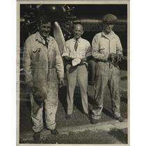 1929 Press Photo Plane Designer Jesse C. Johnson, A.S. Elliott - ney19219