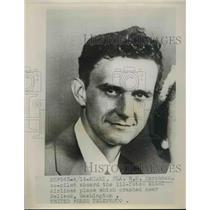 1953 Press Photo W.E. Harshman Co-Pilot Of Ill-Fated Miami Airlines Crash
